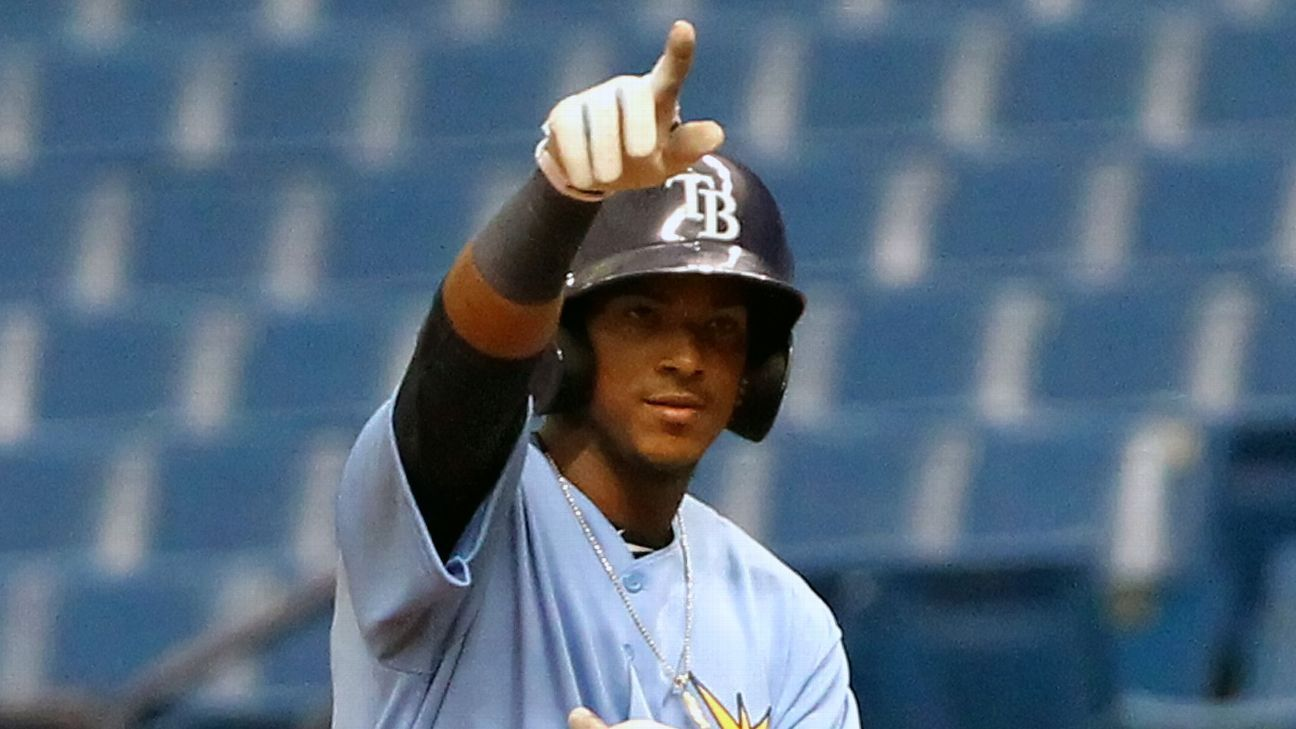 Wander Franco is set to make a splash at the Tampa Bay Rays